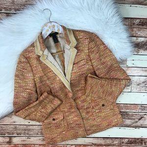 J. Crew collection tweed blazer
